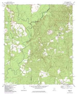 Loango topo map