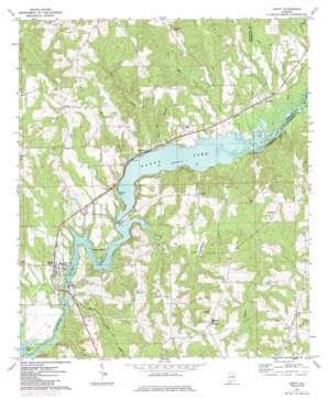 Gantt topo map