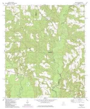 Brooks topo map
