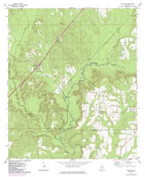 Garland topo map