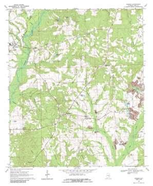 Goshen topo map