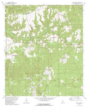 Forest Home topo map