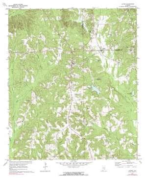 Lapine topo map
