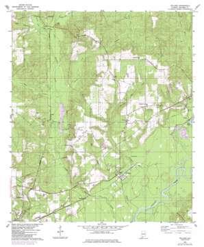 Pollard topo map