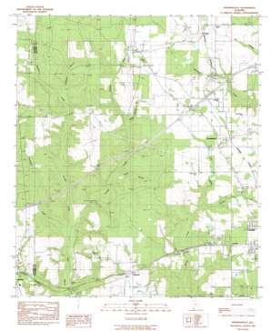 Freemanville topo map