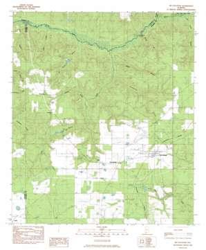 Mccullough topo map