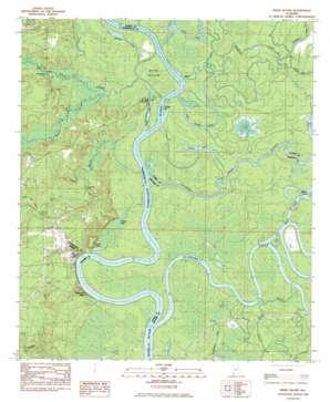 Bilbo Island topo map
