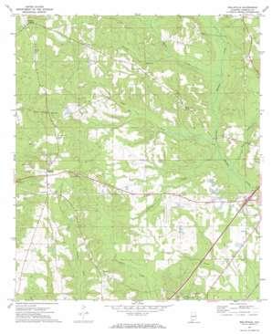 Belleville topo map