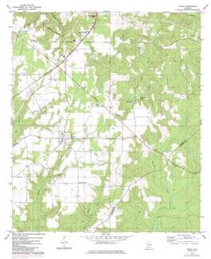 Excel topo map