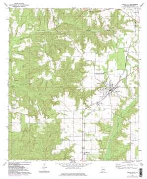 Frisco City topo map