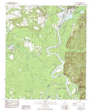 Prestwick topo map