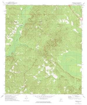 Suggsville topo map