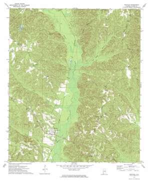 Whatley topo map
