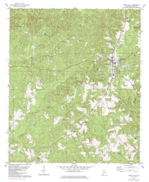 Grove Hill topo map