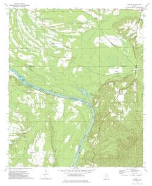 Hybart topo map