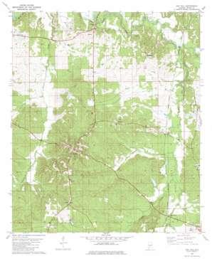 Oak Hill topo map