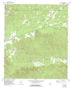 Morvin topo map