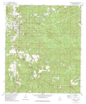 Citronelle East topo map