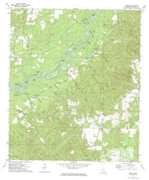 Vernal topo map