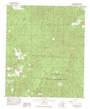 Taylor Hill topo map