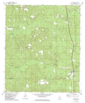 Calvert topo map