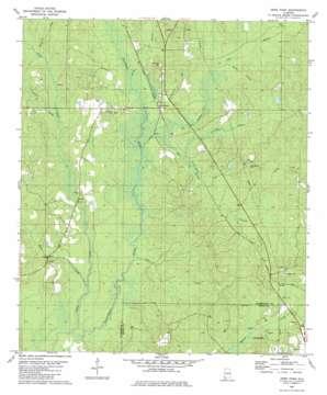 Deer Park topo map