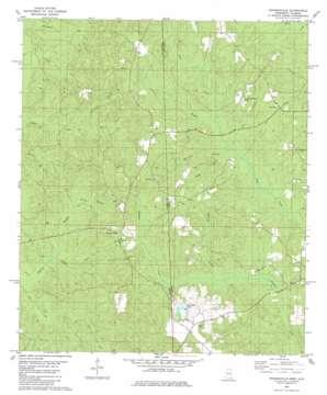 Rounsaville topo map