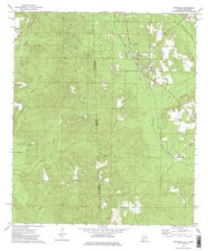 Fruitdale topo map