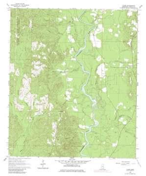 Clark topo map