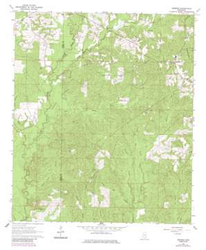 Brewer topo map