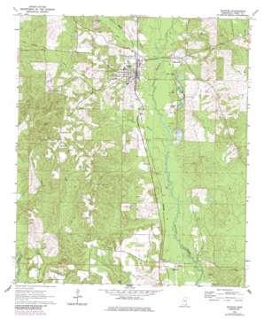 Richton topo map