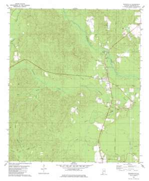 Wagarville topo map