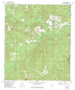 Rutan topo map