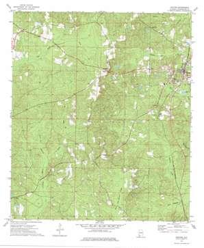Chatom topo map