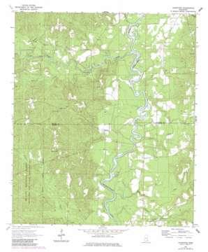 Knobtown topo map