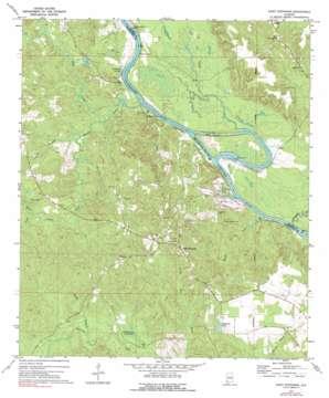 Saint Stephens topo map