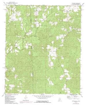 Copeland USGS topographic map 31088e4