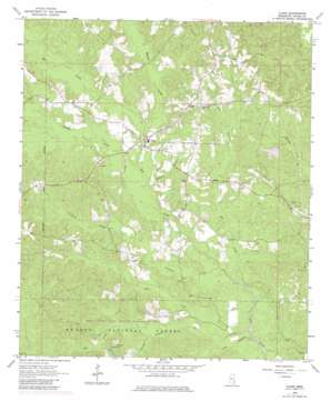 Clara USGS topographic map 31088e6