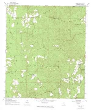 Water Oak topo map