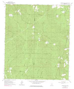 Strengthford topo map