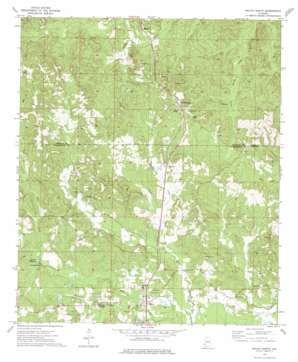 Millry North USGS topographic map 31088f3