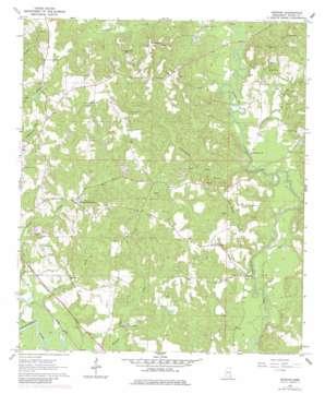 Denham USGS topographic map 31088f5