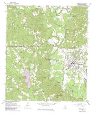 Waynesboro USGS topographic map 31088f6