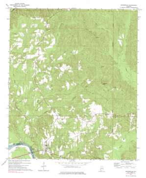 Coffeeville USGS topographic map 31088g1