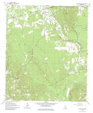 Matherville topo map