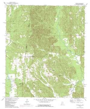 Melvin topo map