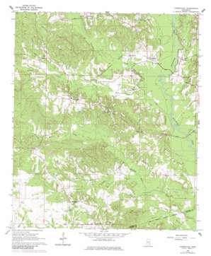Carmichael topo map
