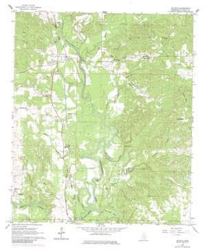 De Soto topo map