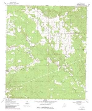Hale topo map