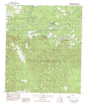 New Augusta USGS topographic map 31089b1